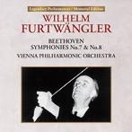 フルトヴェングラー/ベートーヴェン:交響曲 第7番、第8番(1954年)(UHQCD)(アルバム)