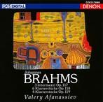 ヴァレリー・アファナシエフ/ブラームス:後期ピアノ作品集1(Blu-Spec CD)(アルバム)
