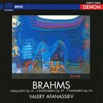 ヴァレリー・アファナシエフ/ブラームス:後期ピアノ作品集2(Blu-Spec CD)(アルバム)
