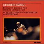ベートーヴェン;交響曲第5番「運命」/シベリウス;交響曲第2番 セル/RCO(アルバム)
