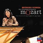 モーツァルト:ピアノ協奏曲第23番・第24番 内田光子(P,指揮) クリーヴランドo.(SHM-CD)(アルバム)