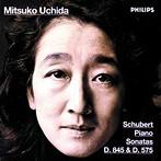 シューベルト:ピアノ・ソナタ第16番・第9番 内田光子(P)(アルバム)