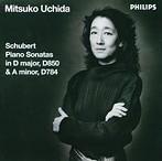 シューベルト:ピアノ・ソナタ第17番・第14番 内田光子(P)(アルバム)