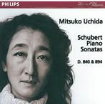 シューベルト:ピアノ・ソナタ第15番・第18番 内田光子(P)(アルバム)