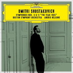 ショスタコーヴィチ:交響曲第4番・第11番「1905年」 ネルソンス/BSO(SHM-CD)(アルバム)