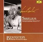 シベリウス:交響曲第2番・第7番 バーンスタイン/VPO(SHM-CD)(アルバム)