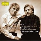 ブラームス:ピアノ協奏曲第1番 ツィマーマン(P) ラトル/BPO(SHM-CD)(アルバム)