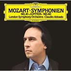モーツァルト:交響曲第40番・第41番「ジュピター」アバド/LSO(SHM-CD)(アルバム)