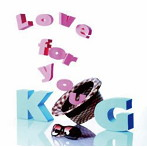 KG/Love for you(アルバム)