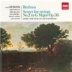 ブラームス:弦楽六重奏曲第1番・第2番 メニューイン(VN) ジャンドロン(VC) 他(HQCD)(アルバム)