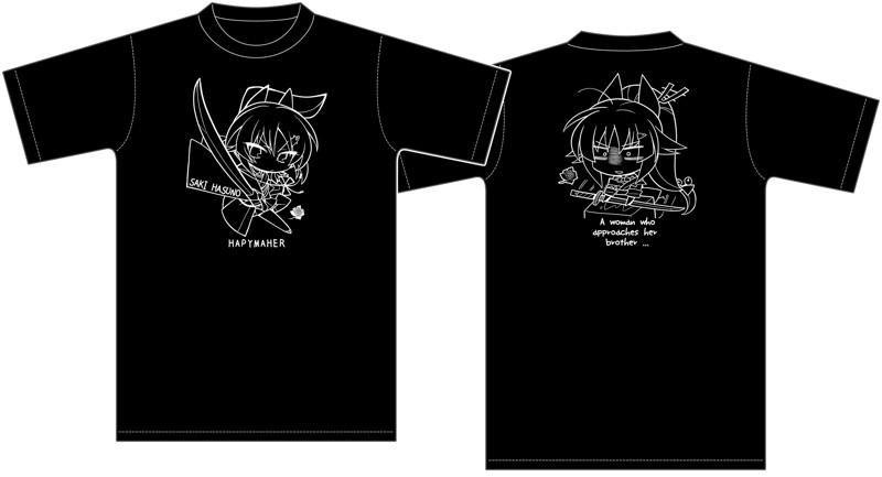 ハピメア 咲SAMURAISWORD Tシャツ XL