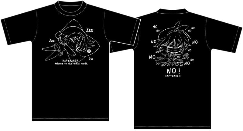 ハピメア 有子おひるね Tシャツ XXL