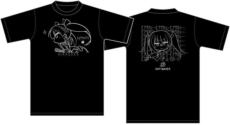 ハピメア HIRASAKAa Tシャツ M