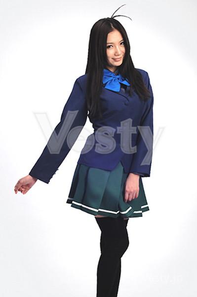アクセル・ワールド 黒雪姫 梅郷中制服風コスチューム 【男性Mサイズ】