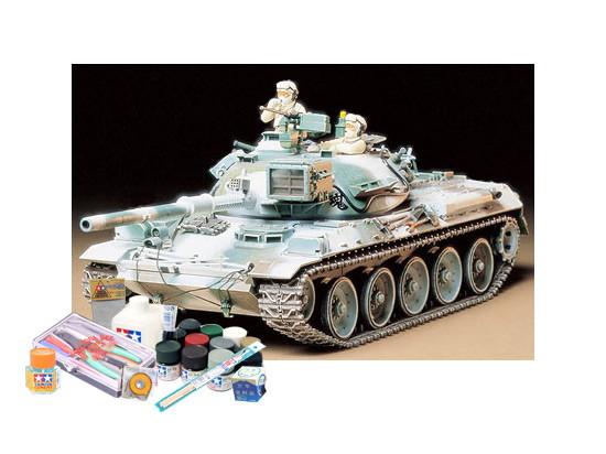 プラモデル制作セット 1/35スケール 陸上自衛隊 74式戦車(冬期装備)