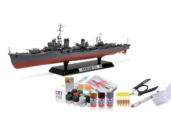 プラモデル制作セット 1/350スケール 日本海軍 駆逐艦 雪風