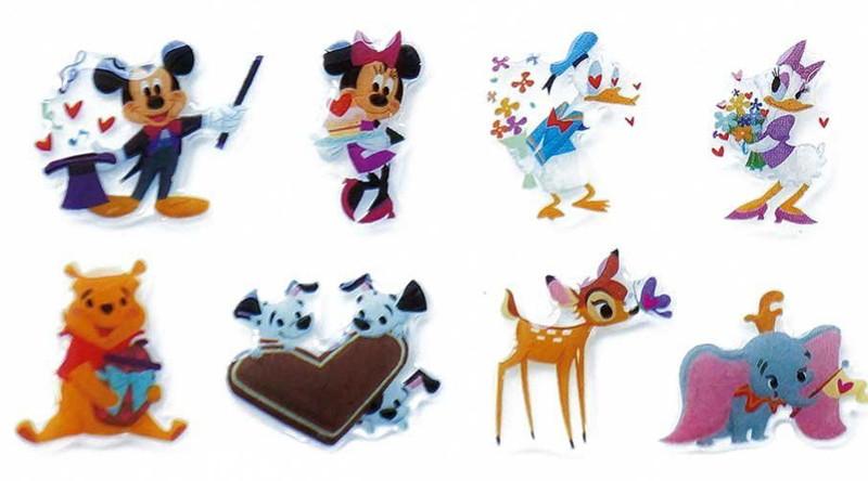 Disney キャラクターソフトシール セレブレーション