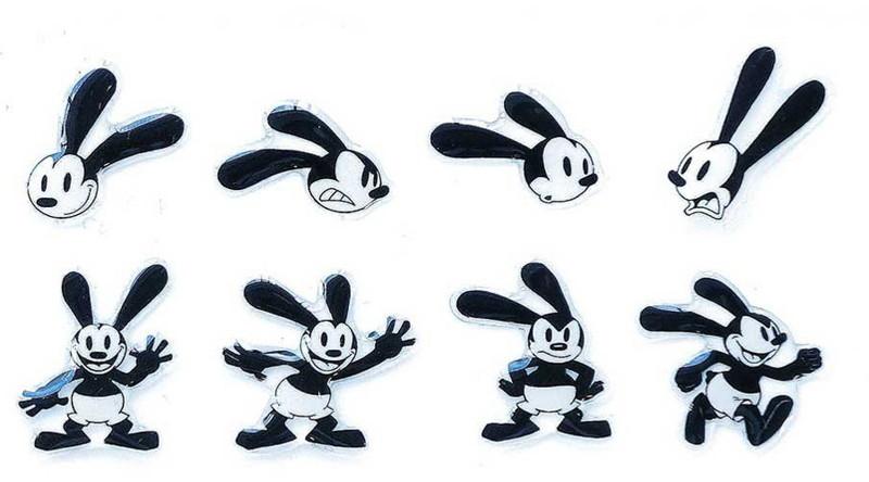 Disney キャラクターソフトシール オズワルド