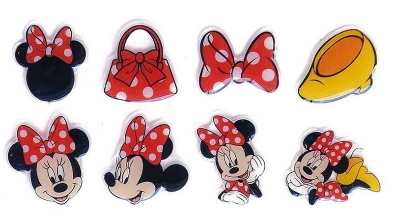 Disney キャラクターソフトシール ミニーマウス