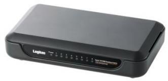 ロジテック イーサネットHUB/電源外付け/8ポート/ブラック LAN-SW08/PHB