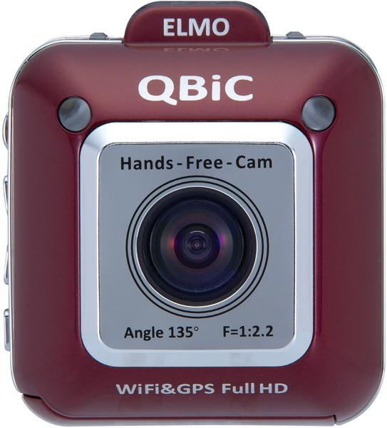 ELMO QBiC X1 ワインレッド