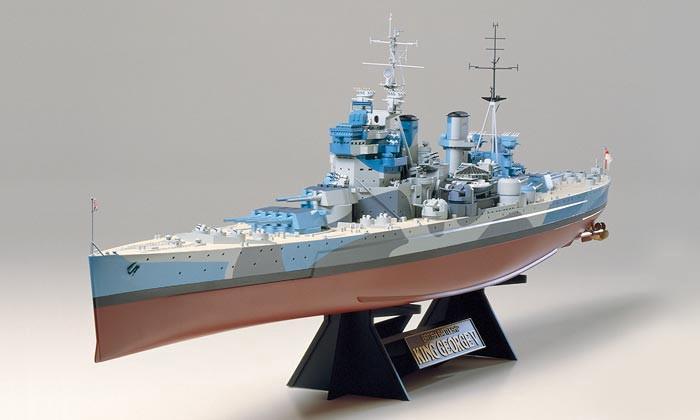 1/350 イギリス海軍戦艦 キングジョージ5世