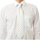 ネクタイ シルク ホワイト