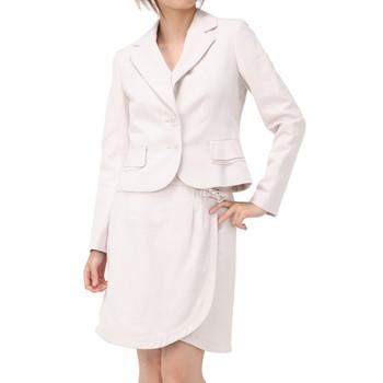 レッセパッセ スカートスーツ ピンク