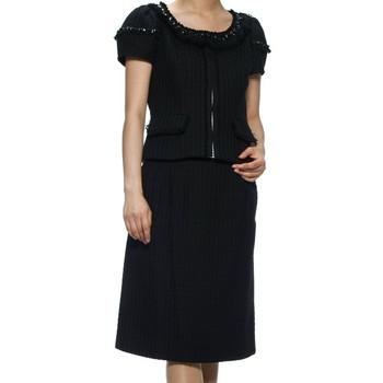 ルネ スカートスーツ ブラック