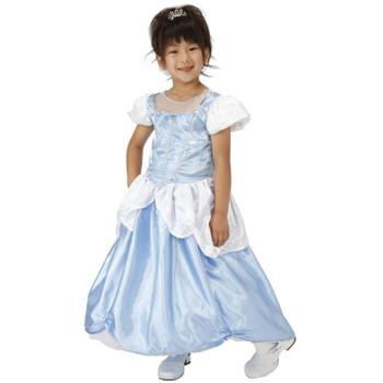 【キッズ】プリンセスドレス ライトブルー