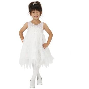 【キッズ】妖精ドレス ホワイト
