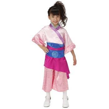 【キッズ】エキゾチックドレス ピンク