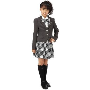 【ジュニア】spice candy スーツ グレー