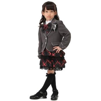 【キッズ】Lili Lundi スーツ グレー