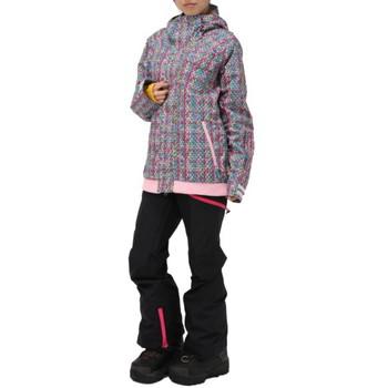 Burton スノーウェア Zany Jacket チェック柄×ブラック