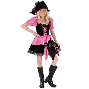【キッズ】ピンクの海賊