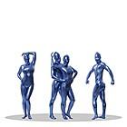 新透明人間 コーティング ブルー 1セット