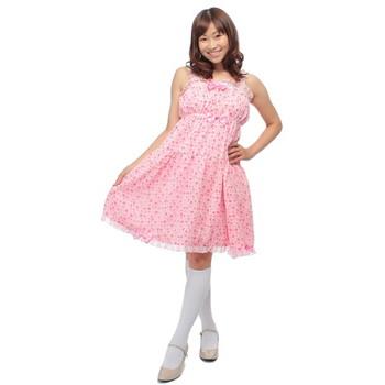 Cream doll ハートタフィ ロリータジャンパースカート
