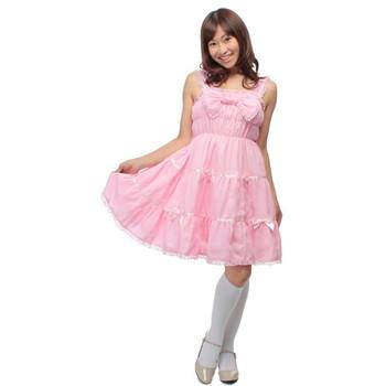 Cream doll ベリーフロマージュ ロリータジャンパースカート