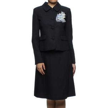 f-mode ブラックフォーマルタイプ スカートスーツ ネイビー