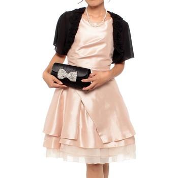 【3点セット】ジュネビビアン レイヤード風 ミニドレス ピンク