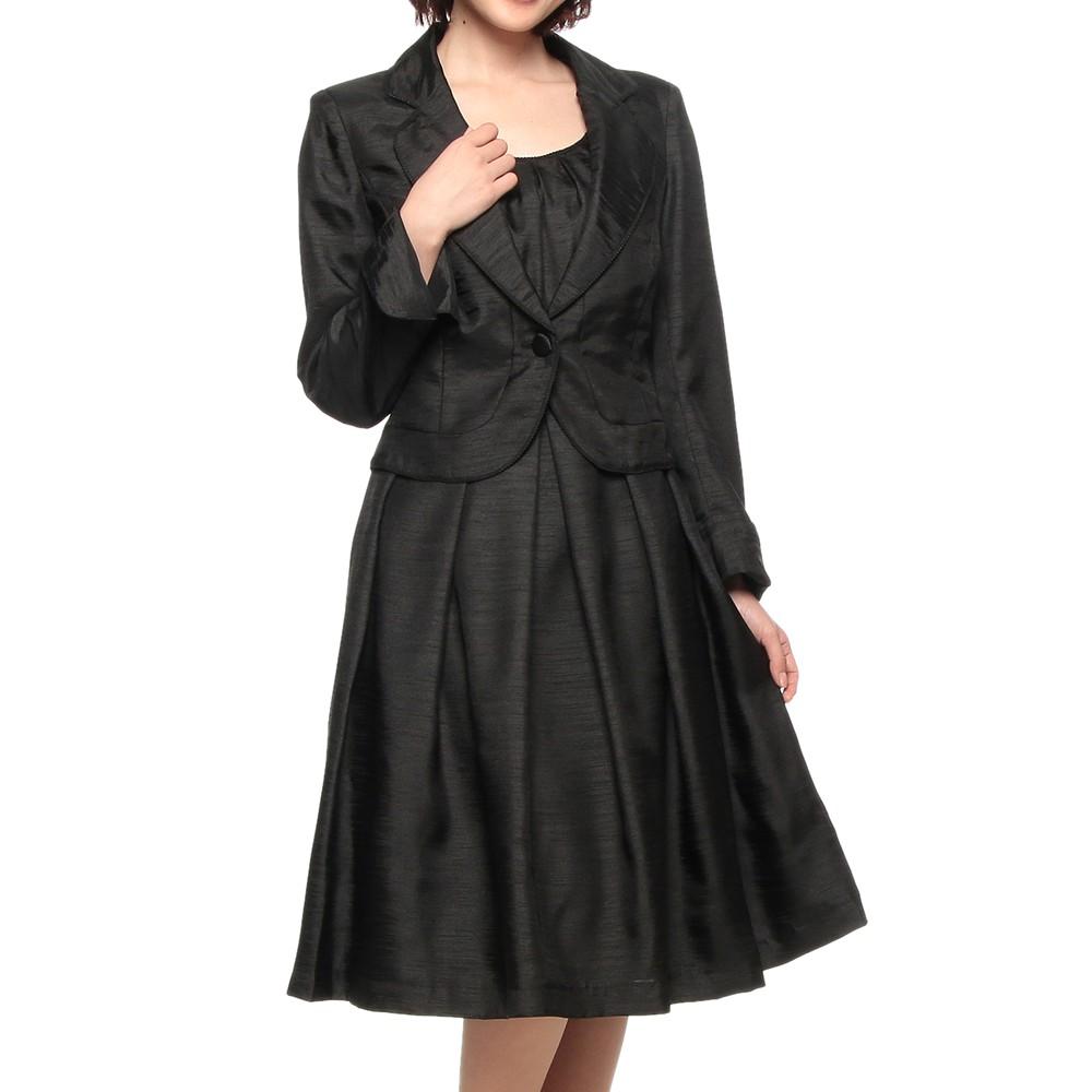 NIGHTONE&Co テーラードジャケット ワンピーススーツ ブラック