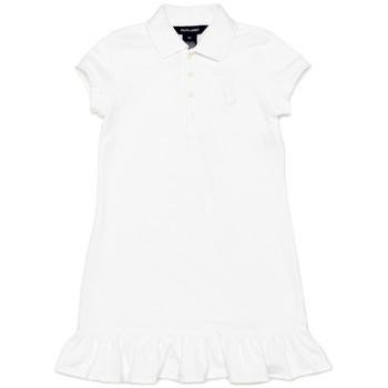 【まとめ借り割引商品】ラルフローレン 裾フリル ポロシャツ ワンピース