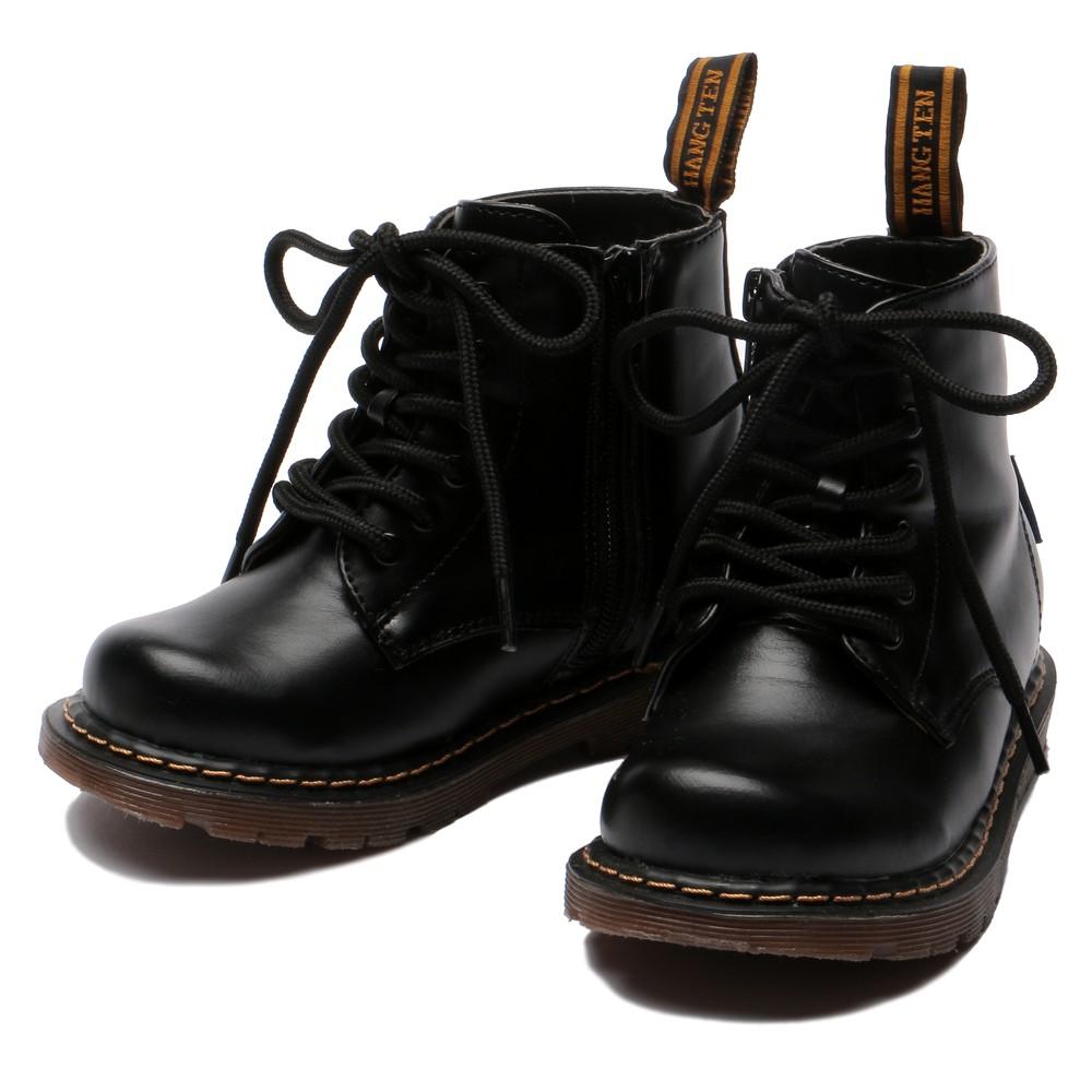 メンズファッションレンタル、シューズ、キッズ、ブラック 【キッズ】HANG TEN フォーマル シューズ ブラック
