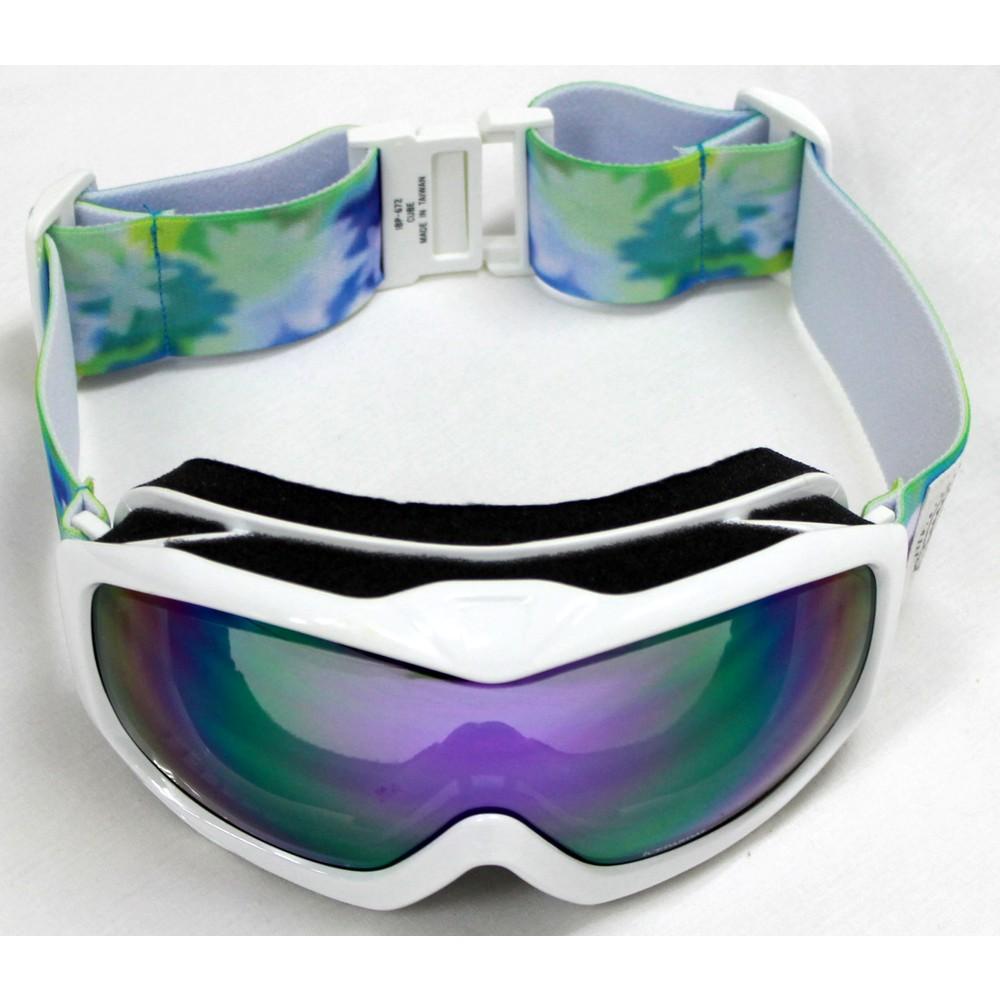 レディースファッションレンタル、スノーウェア、スポーツウェア、ホワイト アイスパーダル スノーゴーグル ホワイト