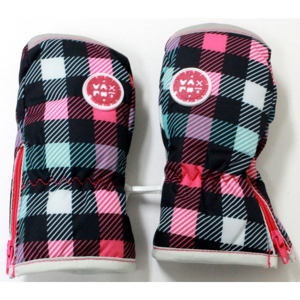 メンズファッションレンタル、スノーウェア、キッズ、ピンク 【キッズ】 バックスポット スキーミトングローブ ピンク