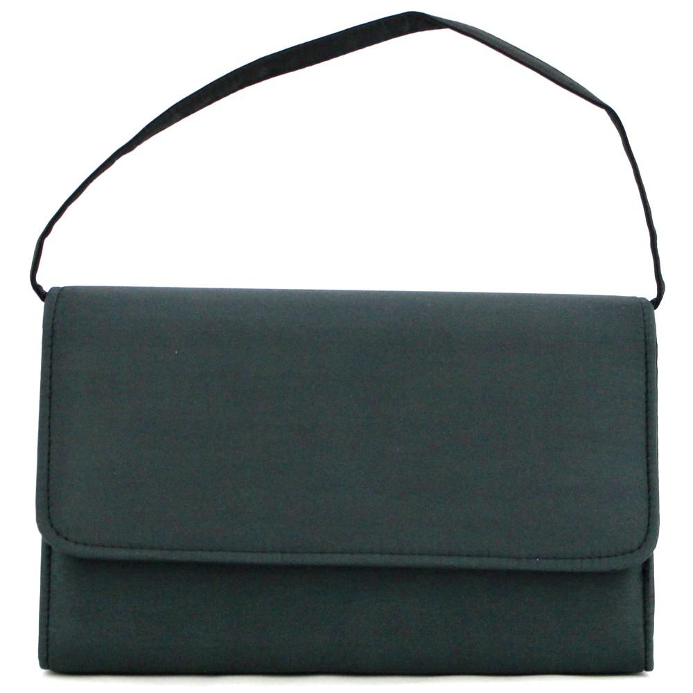 レディースファッションレンタル、ハンドバッグ、バッグ、ブラック フォーマルデザイン ハンドバッグ ブラック