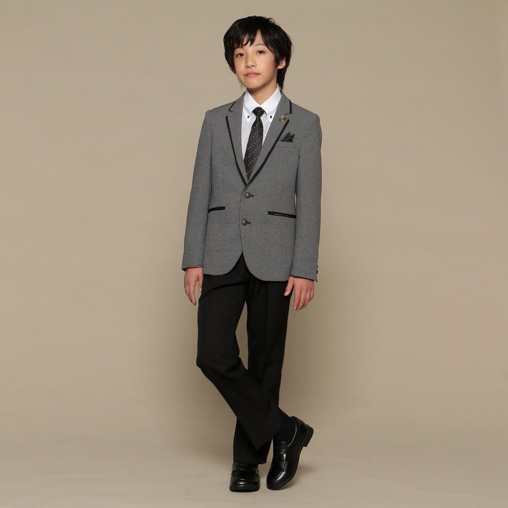 [iteminfo_actress_name] メンズファッションレンタル、スーツ、ジュニア、グレー 【ジュニア】ミッシェル アルフレッド スーツ グレー