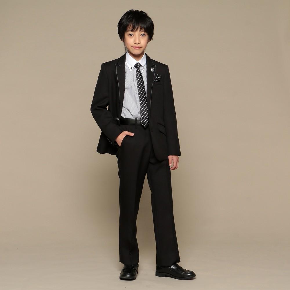 [iteminfo_actress_name] メンズファッションレンタル、スーツ、ジュニア、ブラック 【ジュニア】MICHIKO LONDON KOSHINO スーツ ブラック