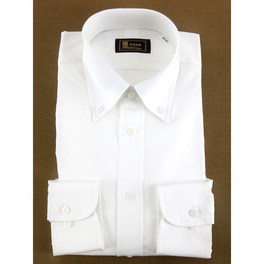 メンズファッションレンタル、ワイシャツ、シャツ/ネクタイ、ホワイト 早稲田屋 無地 Yシャツ ホワイト